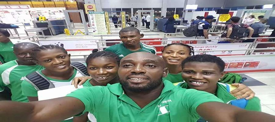 Three Nigerian Female Wrestlers Arrive In Paris For World Championship