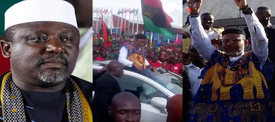 Nnamdi Kanu: Okorocha breaks silence on Biafra