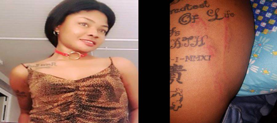 Nigeria police allegedly tortures woman for having tattoos [PHOTOS]
